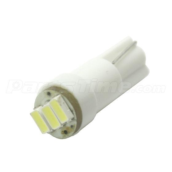 60x T5 74 Led Dashboard Speedometer Gauge Indicator Light: 10x T5 Twist Socket Instrument Panel Cluster Plug White