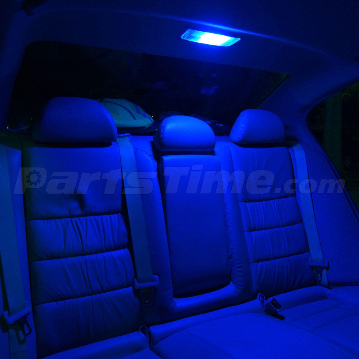 14x blue interior lights led package dome license fit for 1999 2006 gmc sierra ebay