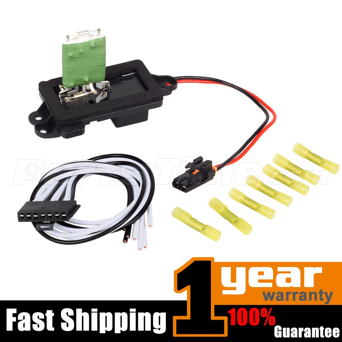 145392 1?rn=2668210 89019088 heater blower motor resistor for cadillac chevy gmc w 7-wire blower motor resistor harness at bayanpartner.co