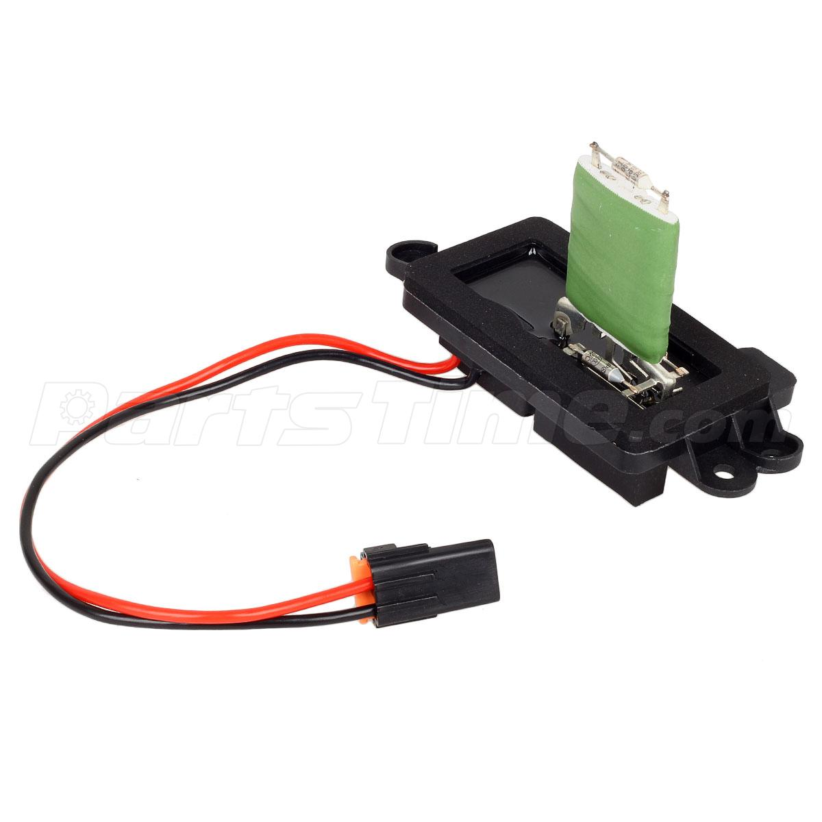 89019088 heater blower motor resistor for cadillac chevy ... chevy blower motor wiring #4