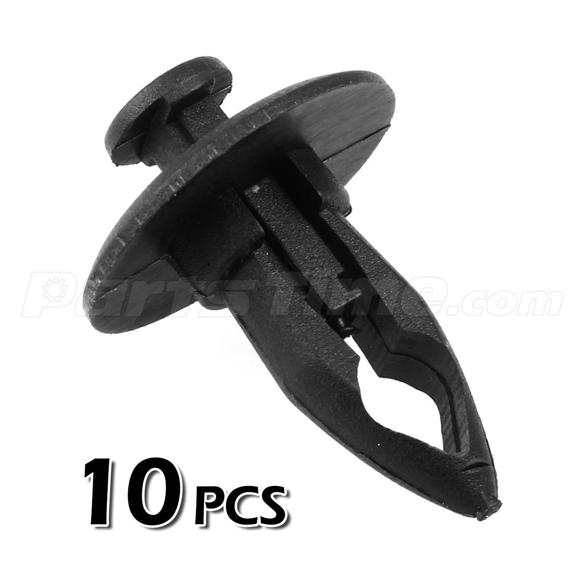 gm fasteners motors 10pcs fender bumper plastic panel fastener push tab rivet retainer clip for gm